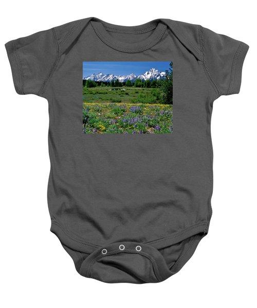 Teton Grandeur Baby Onesie
