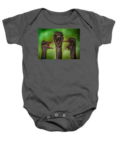 The 3 Tenors Edit 2 Baby Onesie by Leah Saulnier The Painting Maniac