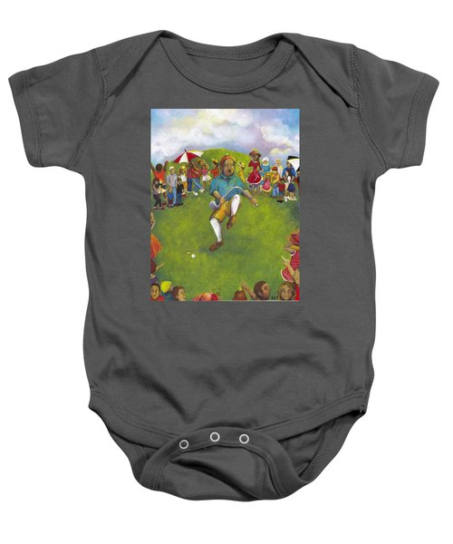 The Angry Golfer  Baby Onesie