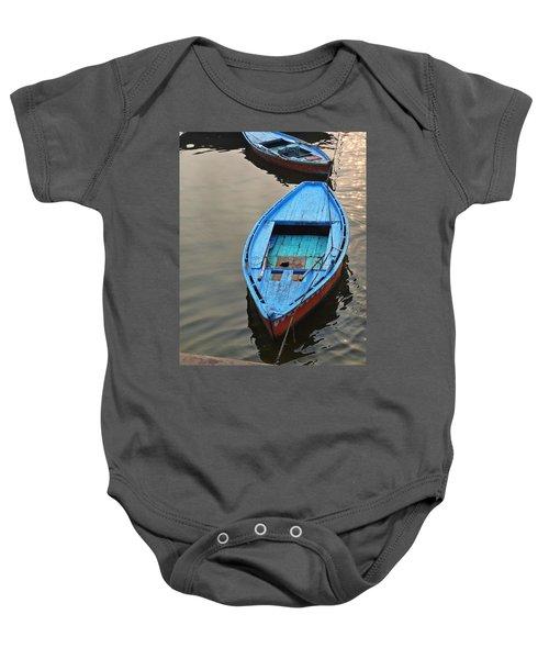 The Blue Boat Baby Onesie