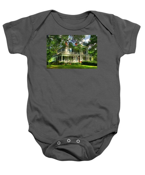 A Southern Bell The Carlton Home Art Southern Antebellum Art Baby Onesie