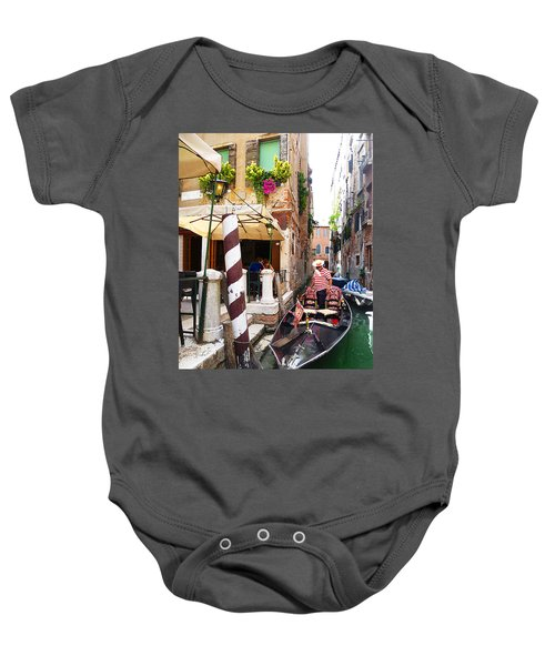 The Colors Of Venice Baby Onesie
