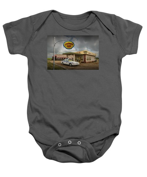 The Corner Gas Station From The Canadian Tv Sitcom Baby Onesie