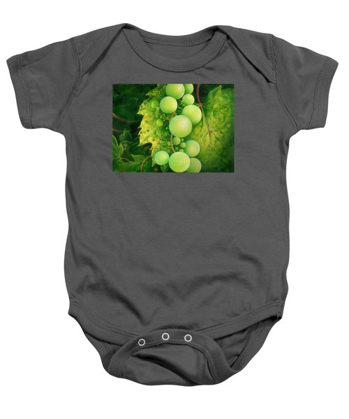 The Grapes Baby Onesie