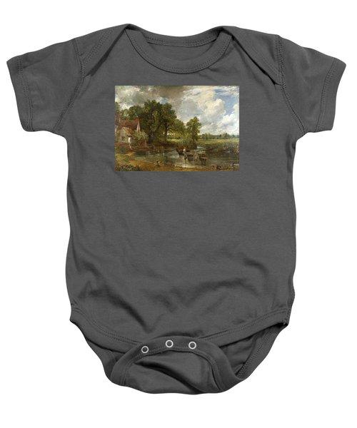 The Hay Wain Baby Onesie
