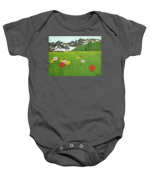 The Hills Are Alive With The Sound Of Music Baby Onesie