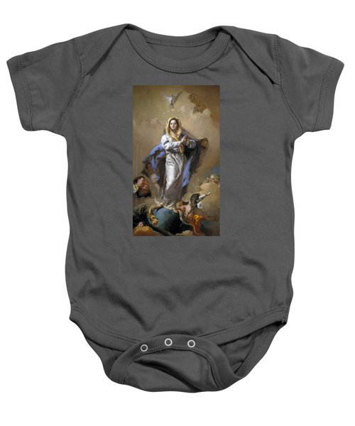 The Immaculate Conception Baby Onesie