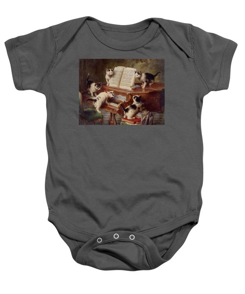 The Kittens Recital Baby Onesie