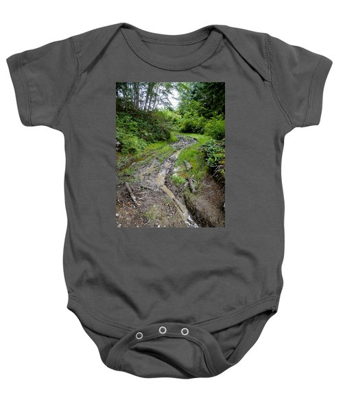 The Ledge Point Trail Baby Onesie