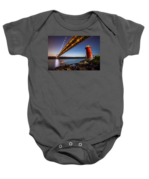 The Little Red Lighthouse Baby Onesie