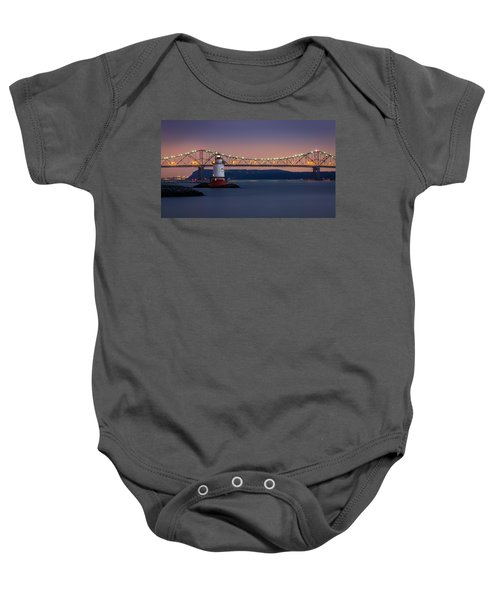 The Little White Lighthouse Baby Onesie