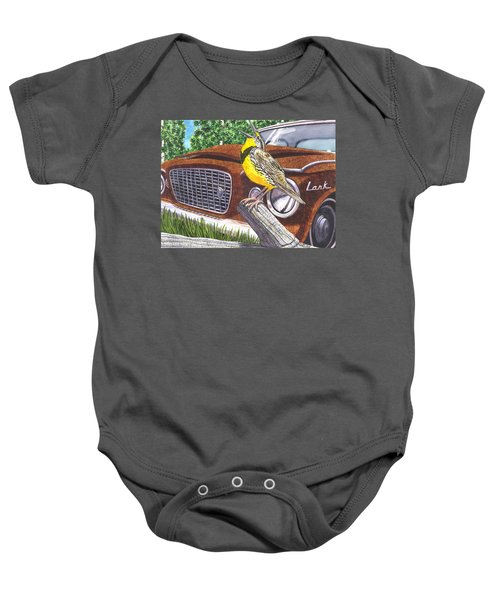 The Meadowlarks Baby Onesie by Catherine G McElroy