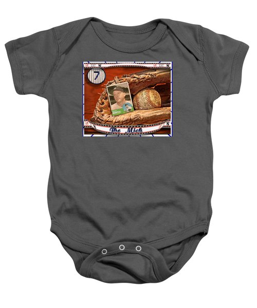 The Mick Baby Onesie by John Anderson