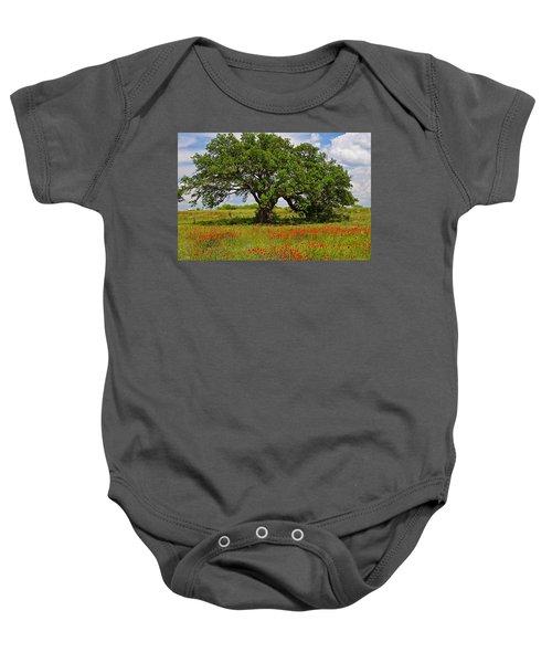 The Mighty Oak Baby Onesie