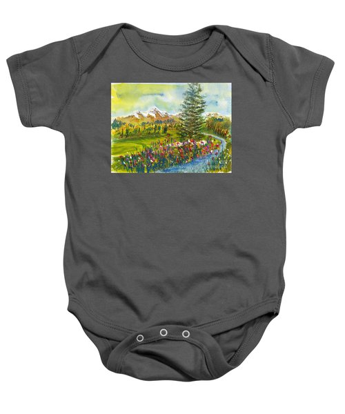 The Ninth Hole Baby Onesie