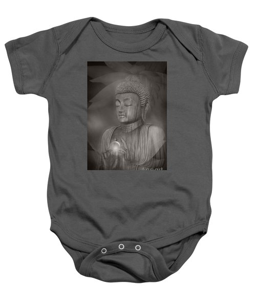 The Path Of Peace Baby Onesie by Sharon Mau
