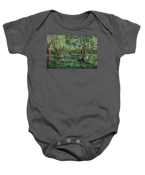 The Preacher And His Flock Baby Onesie