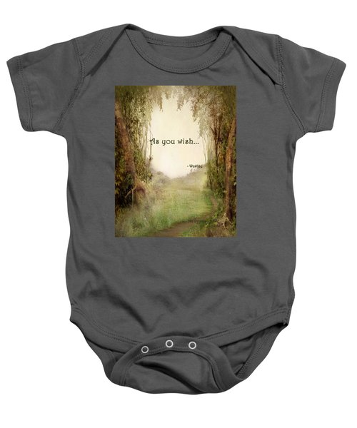 The Princess Bride - As You Wish Baby Onesie