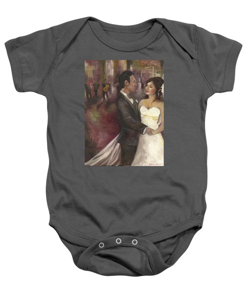The Wedding Baby Onesie