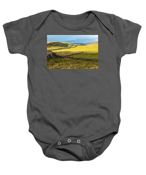 The Yorkshire Dales Baby Onesie