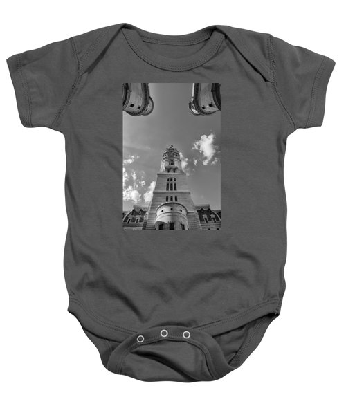 Three Points Of Justice Baby Onesie