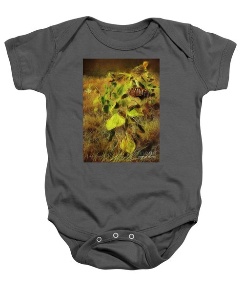 Time Is The Enemy Baby Onesie