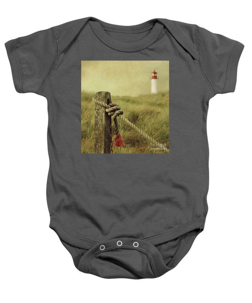 To The Lighthouse Baby Onesie