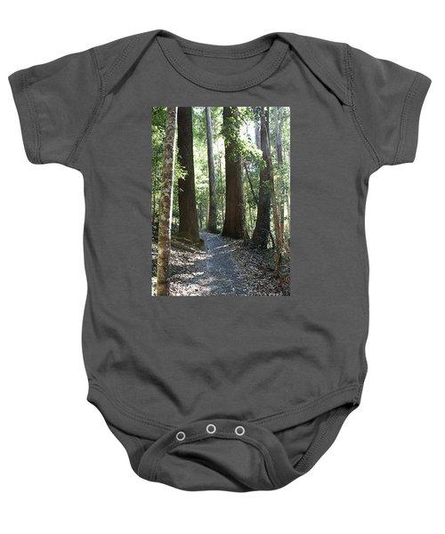 To Walk Among Giants Baby Onesie