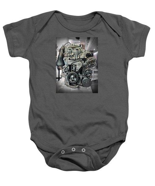Toyota Engine Baby Onesie