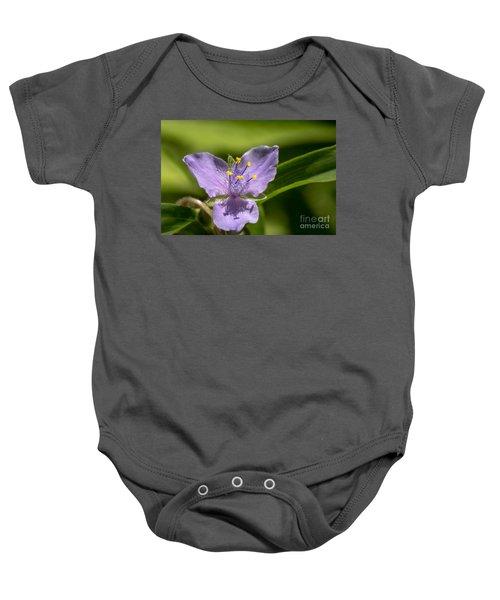 Tradescantia Virginiana Baby Onesie