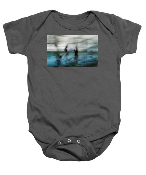 Baby Onesie featuring the photograph Travel Blues by Alex Lapidus