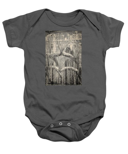 Tree Of Life Dohany Street Synagogue Baby Onesie