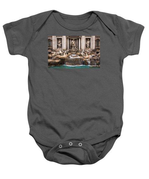 Trevi Fountain Baby Onesie