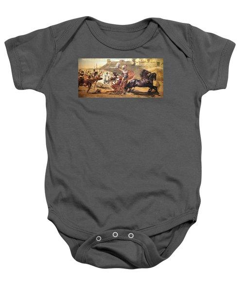 Triumphant Achilles Baby Onesie