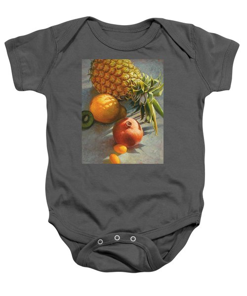 Tropical Fruit Baby Onesie