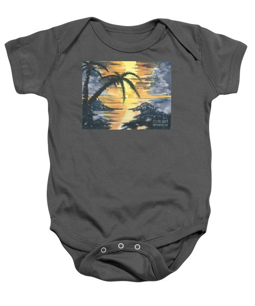 Tropical Sun Baby Onesie