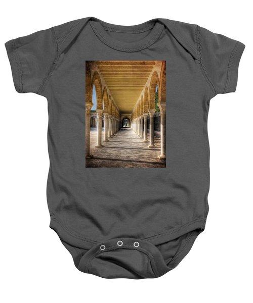 Tunisian Arches / Monastir Baby Onesie