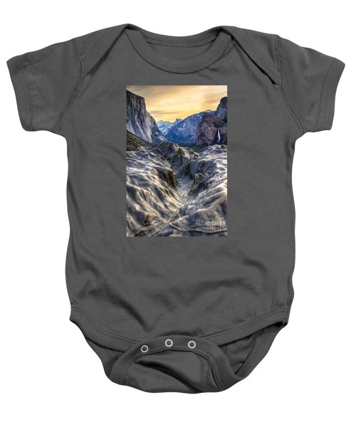 Tunnel View Baby Onesie