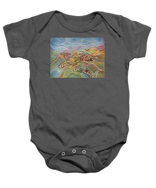 Turtles II Baby Onesie