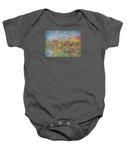 Turtles II Baby Onesie