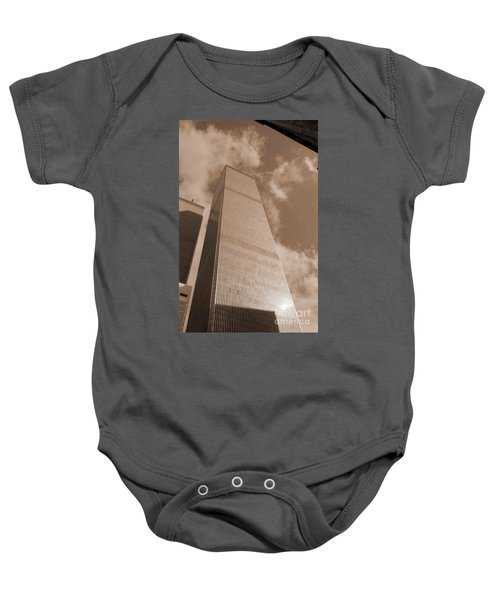 Twin Tower Baby Onesie