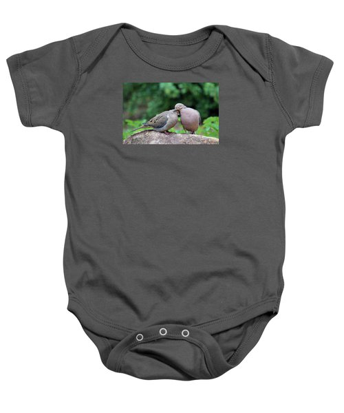 Two Turtle Doves Baby Onesie