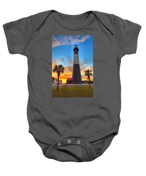 Tybee Island Sunrise Baby Onesie