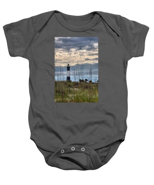 Tybee Light Baby Onesie