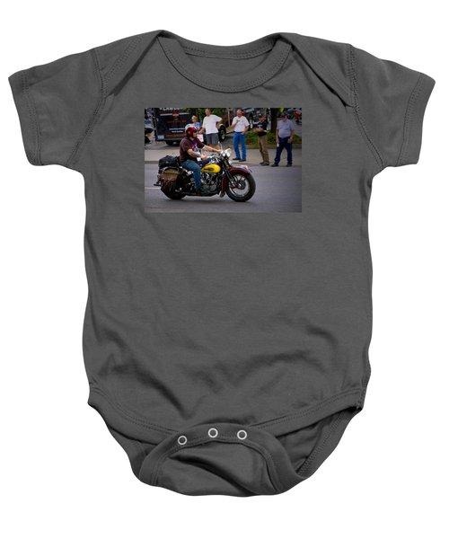 Un-named Crosscountry Harley Baby Onesie