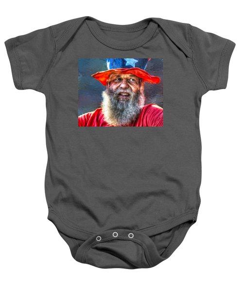 Uncle Sam Baby Onesie