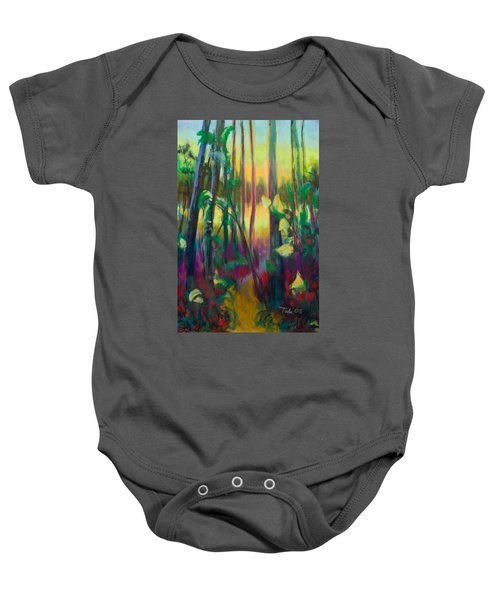 Unexpected Path - Through The Woods Baby Onesie