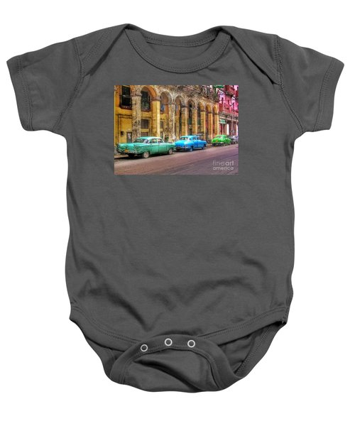 United Colors Of Coches Habaneros Baby Onesie