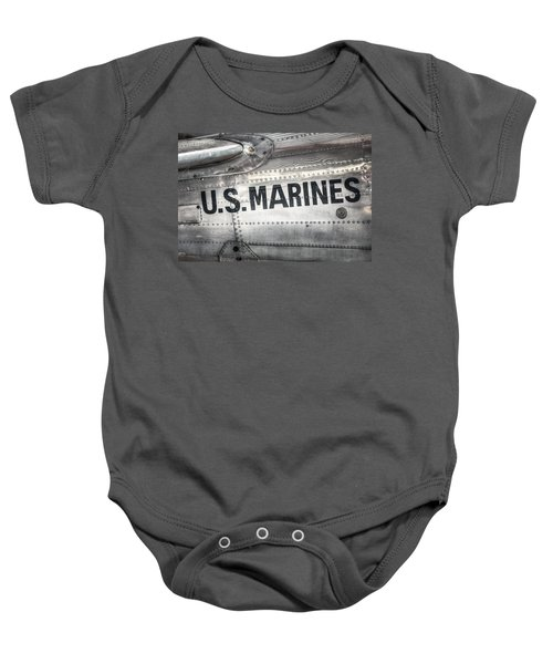United States Marines - Beech C-45h Expeditor Baby Onesie