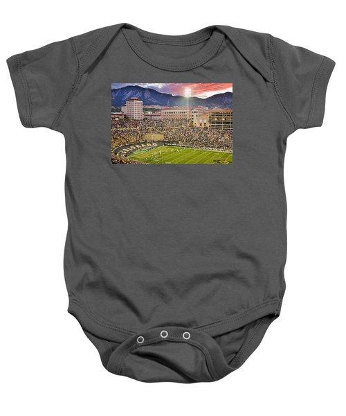 University Of Colorado Boulder Go Buffs Baby Onesie